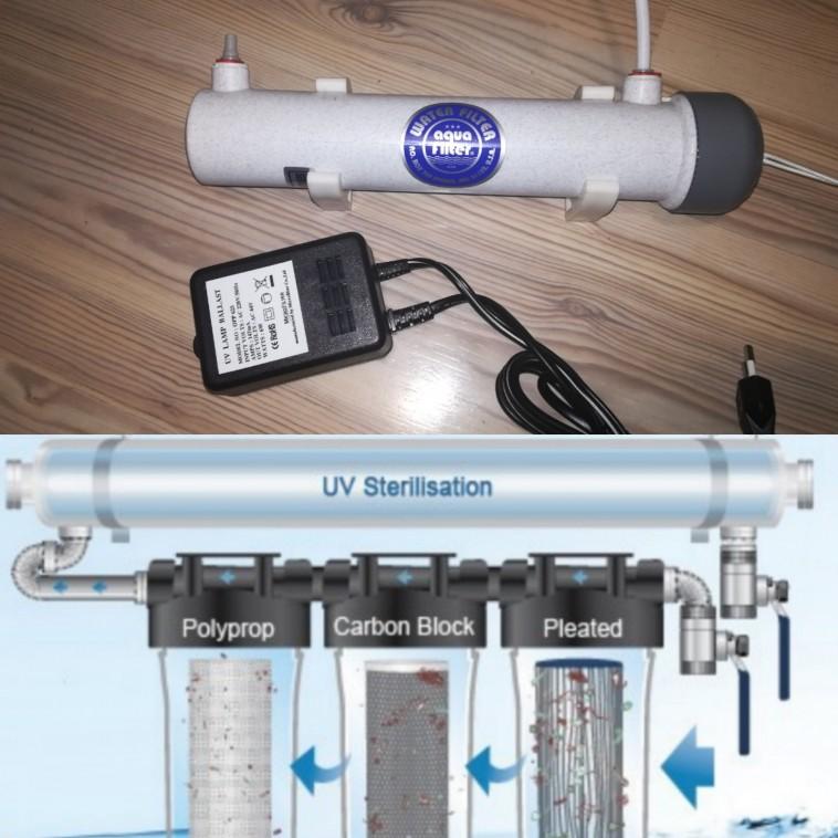 Uv ūdens filtrs