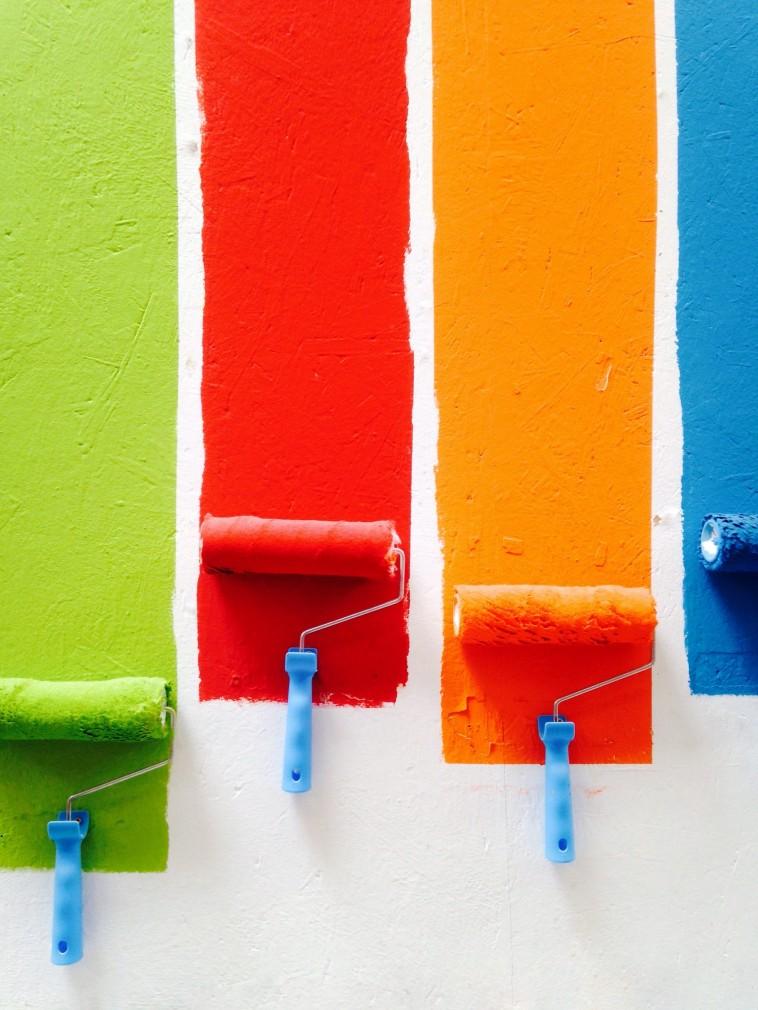 Iekštelpu sienu krāsošana