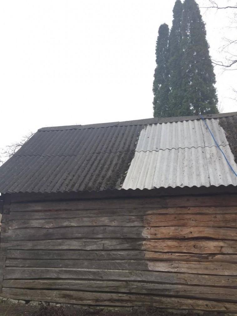 mazgājam jumtus